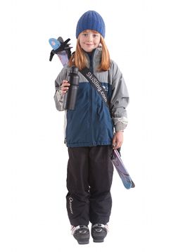 The SkiSling ski and pole carrier makes carrying your skis and poles childs play. Perfect for parents skiing with their children